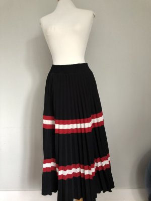 Mango Pleated Skirt multicolored