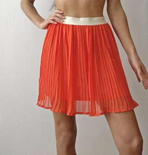 Vila Pleated Skirt multicolored
