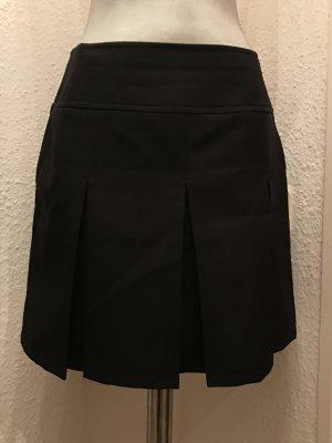 Plissee/ Faltenrock in schwarz