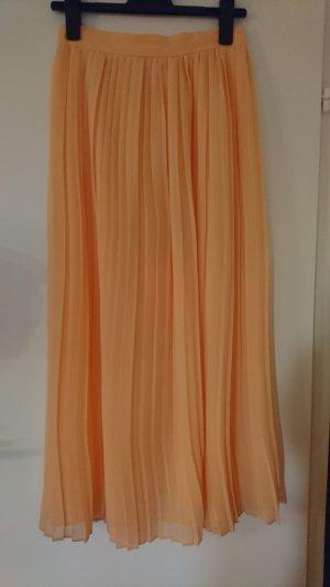Mango Pleated Skirt nude-apricot