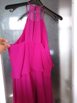 Plissee Kleid pink von Asos