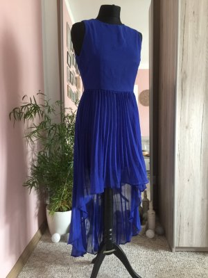 High Low Dress blue