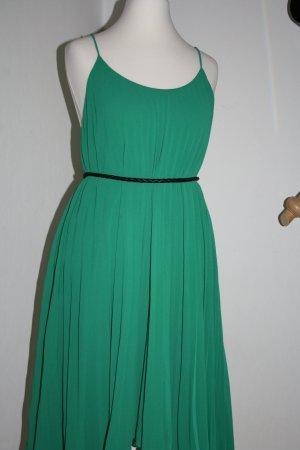 Plissee-Kleid von H&M in grün