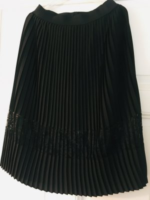 Only Pleated Skirt black polyester