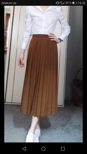 Heinzelmann Pleated Skirt brown