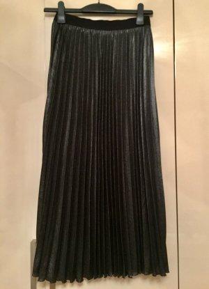 H&M Jupe plissée gris anthracite