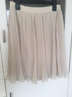 Only Pleated Skirt oatmeal