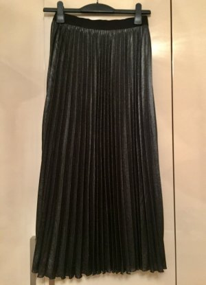 H&M Pleated Skirt anthracite