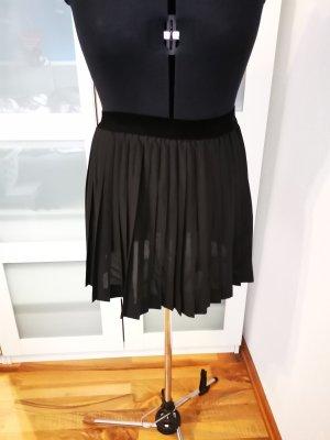 H&M Divided Jupe plissée noir