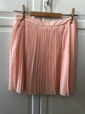 Esprit Pleated Skirt nude