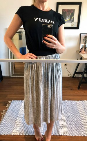 B.young Pleated Skirt silver-colored-light grey