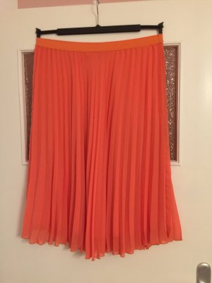 Primark Pleated Skirt apricot-salmon
