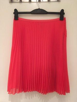 Mango Suit Falda plisada rojo-rojo ladrillo
