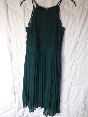 About You Lace Dress forest green