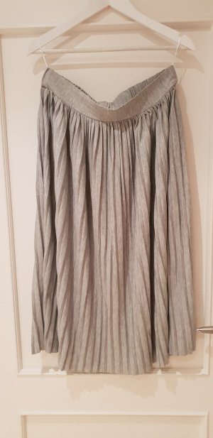 Object Pleated Skirt light grey