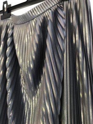 Ana Alcazar Geplooide rok zilver