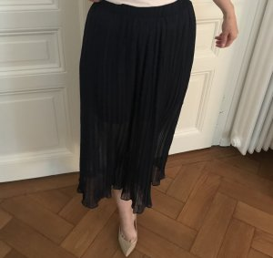 Pleated Skirt blue-dark blue