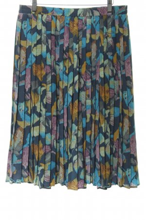 Pleated Skirt flower pattern '80s style