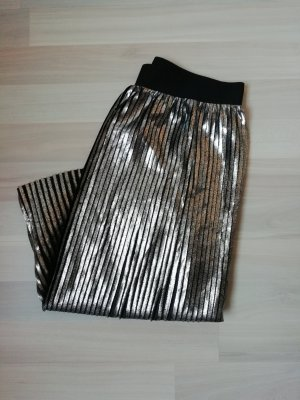 Only Pleated Skirt silver-colored