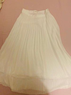 Jupe plissée blanc