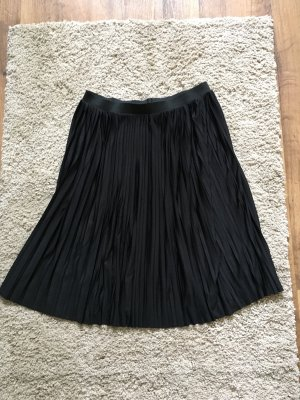 H&M Pleated Skirt black