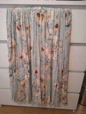 H&M Pleated Skirt pale blue-light blue