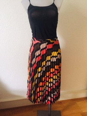 Zara Trafaluc Pleated Skirt multicolored polyester