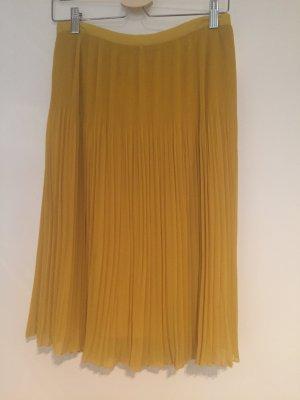 Plisseerock in der Farbe gelb Gr 36 von Zara!
