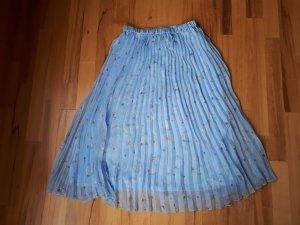 H&M Divided Pleated Skirt azure