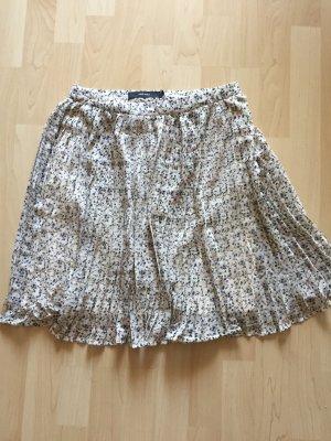 Vero Moda Falda plisada crema
