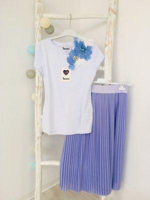 Lindsay Moda Jupe plissée violet polyester