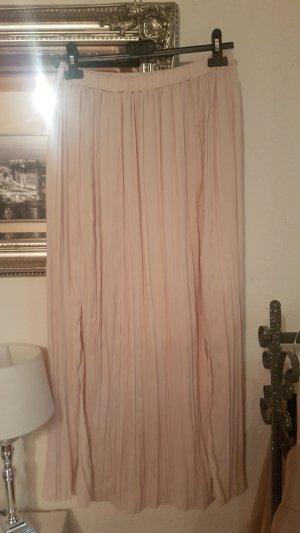 Plisseerock rosa