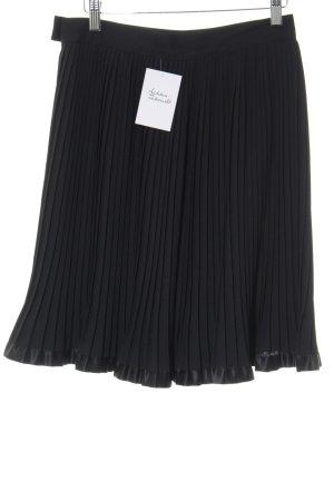 Pleated Skirt black elegant