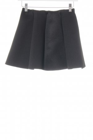 Pleated Skirt black party style