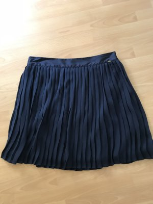 Tommy Hilfiger Pleated Skirt dark blue