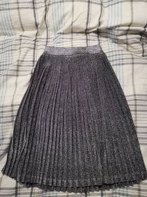 Just Female Pleated Skirt silver-colored