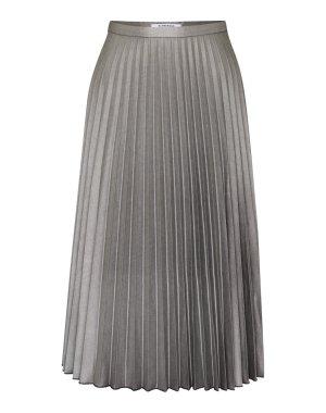 Plisseerock von Glamorous Silber S