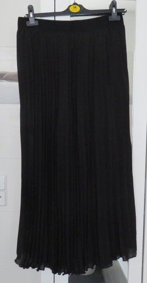 Plisseerock von H&M in schwarz, Gr. 42