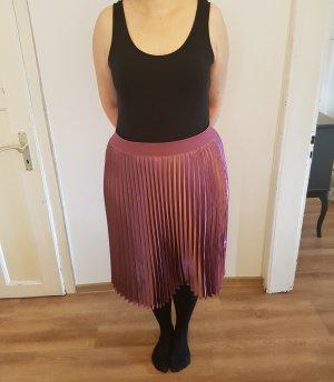 Pleated Skirt purple