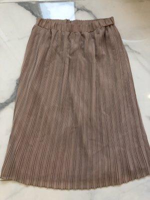Zara Basic Jupe plissée beige