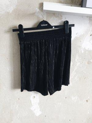 Plisseeshorts H&M schwarz 34