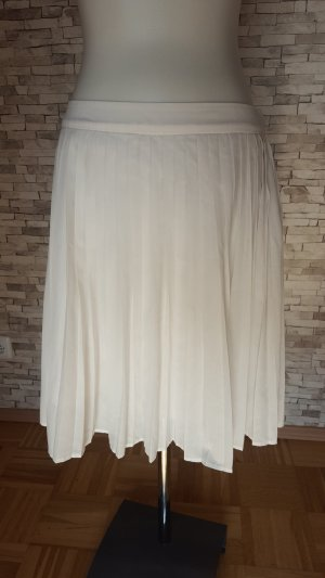Esprit Jupe plissée blanc
