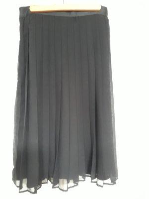Plooirok zwart