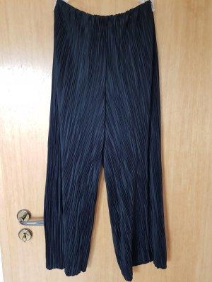 plissierte culotte Hose high waist