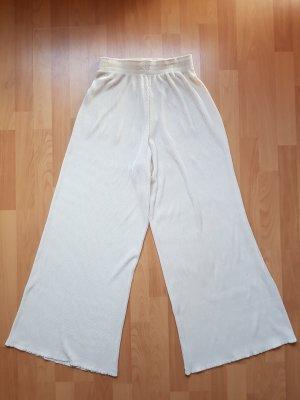 Plissierte Weite Hose American Apparel Weiß