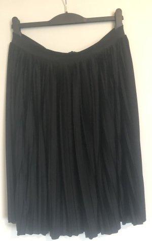 H&M Pleated Skirt black