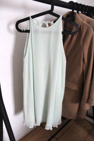 Mango A-lijn jurk grijs-groen