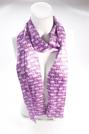 Plomo o Plata bandana purple white
