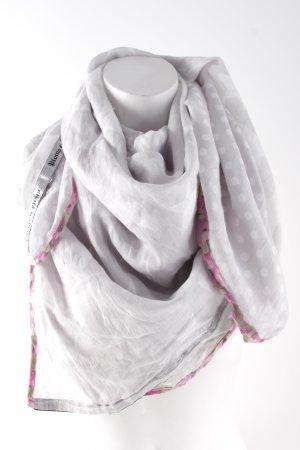 Plomo o plata Foulard motif de tache style décontracté