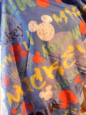 "Plomo-o-Plata, leichter Schal ""Mickey"" in knallblau"